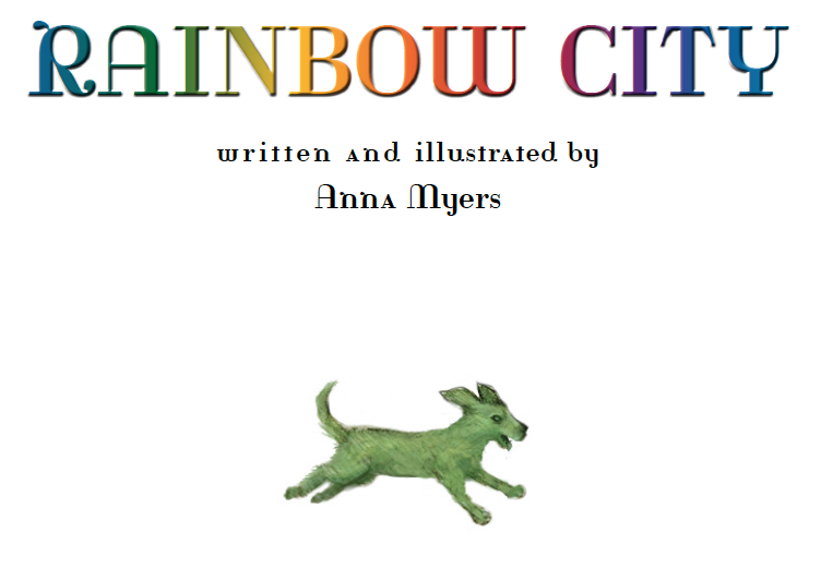 Rainbow City Cover